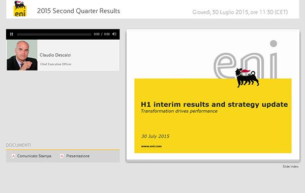 2015 Second Quarter Results