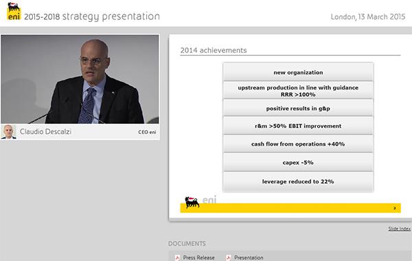 Strategy Presentation 2015–2018