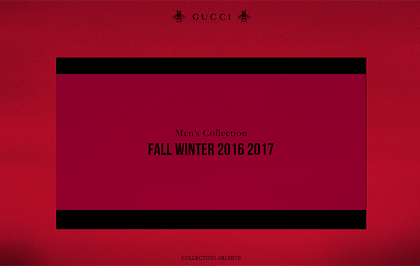 Men's Collection F/W 2016-17