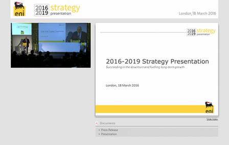 Strategy Presentation 2016 – 2019