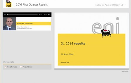 2016 First Quarter Results