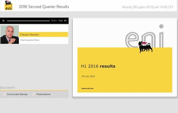 2016 Second Quarter Results