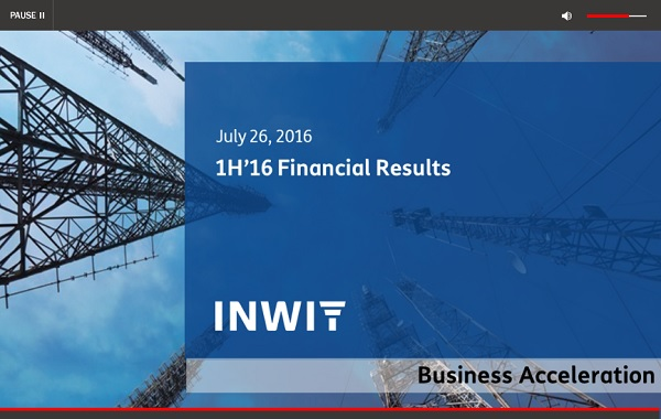 1H 2016 Financial Results