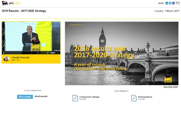 2016 Results and 2017-2020 Strategy