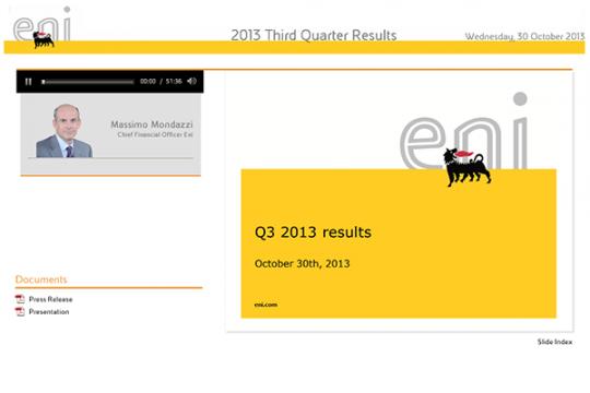2013 Third Quarter Results