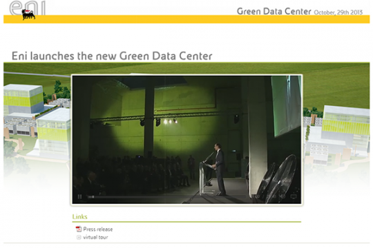 Inaugurazione Green Data Center