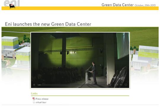 Inaugurazione Green Data Center