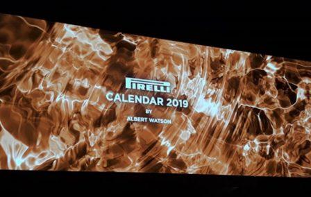 Calendario Pirelli 2019