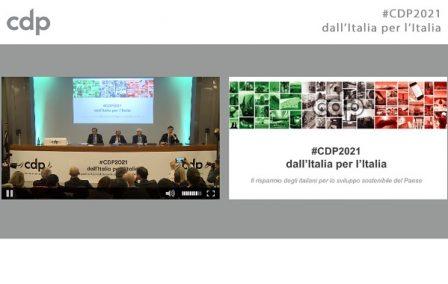 CDP2021 dall'Italia per l'Italia