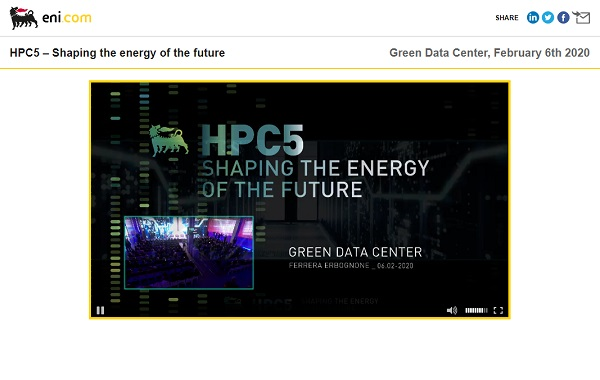 HPC5. Shaping the energy of the future